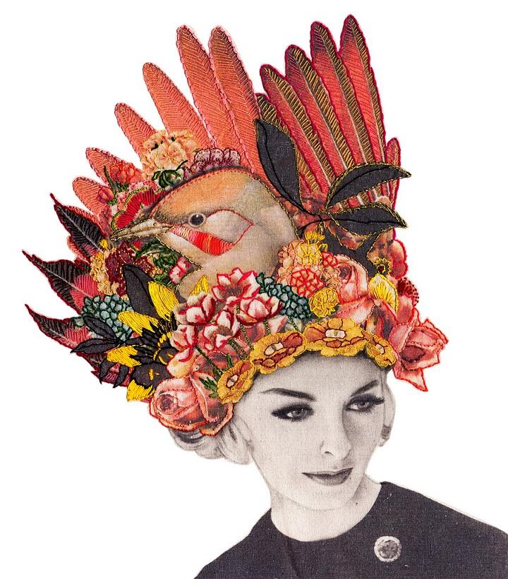 Laura McKellar - headdress