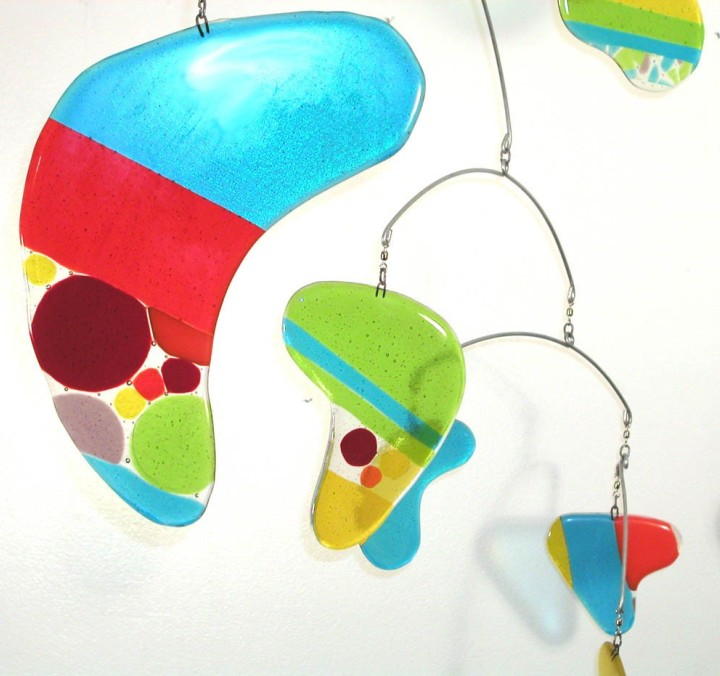 Leah Pellegrini - rainbow glass