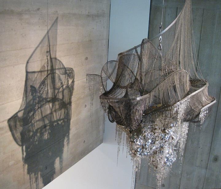 Lee Bul - chandelier