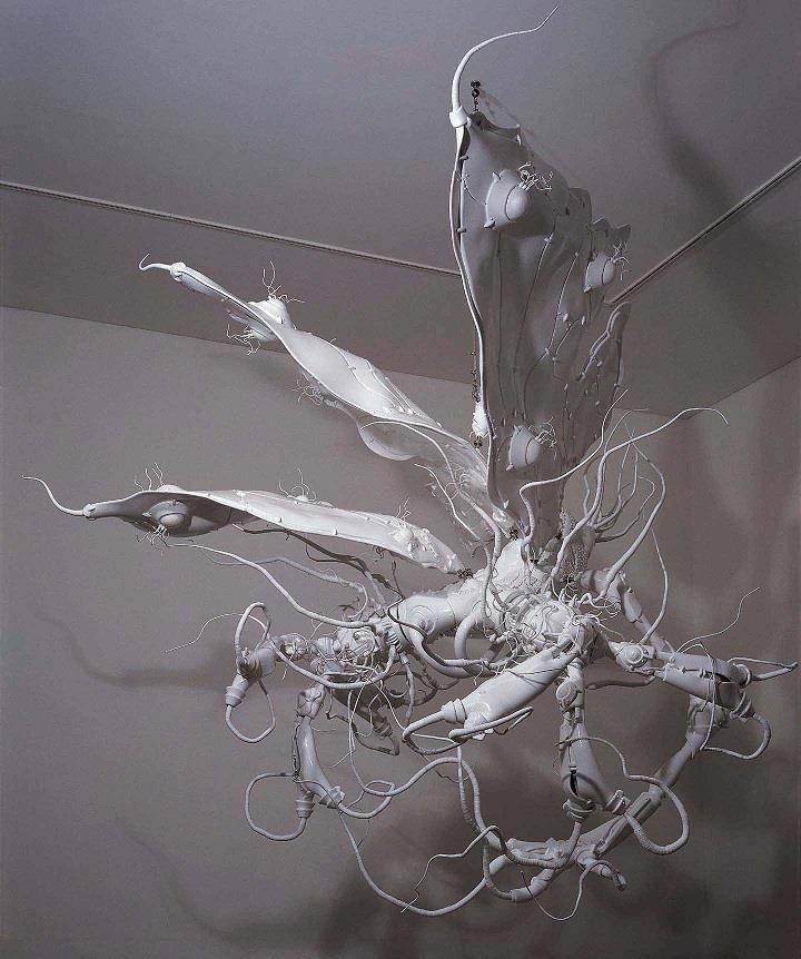 Lee Bul - installation amorphous
