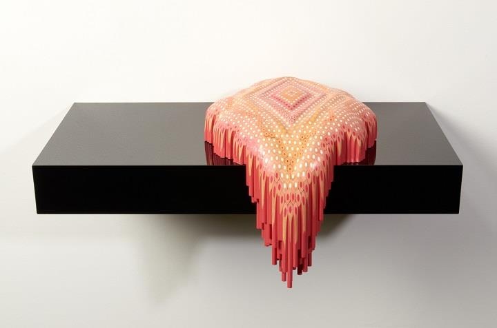 Lionel Bawden - a pencil sculpture