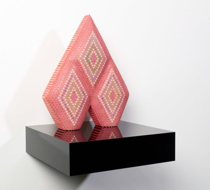 Lionel Bawden - sculpture pencils