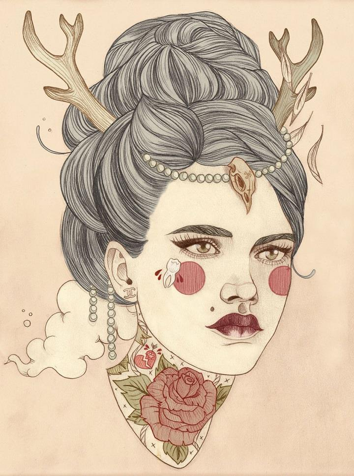 Liz Clements - illustration