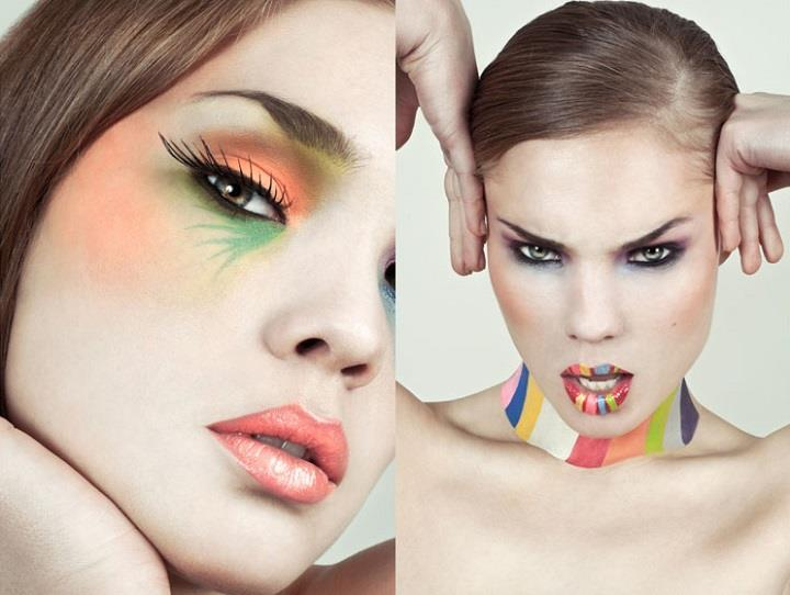 Lucie Eleanor - colorful lips