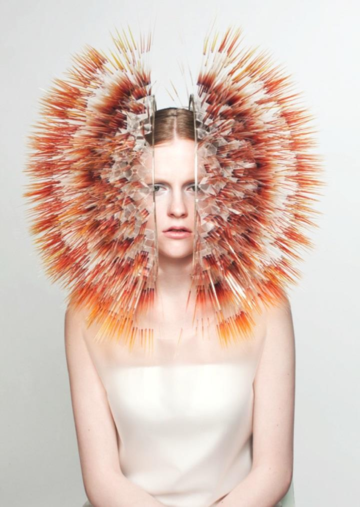 Maiko Takeda - headdress