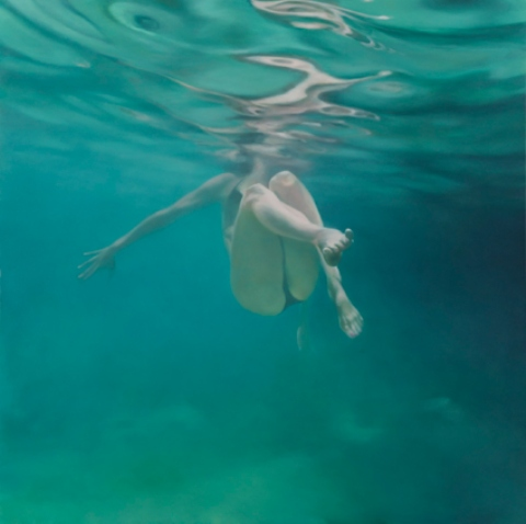 Martine Emdur Underwater Painting 1