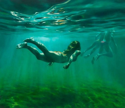 Martine Emdur Underwater Painting 2