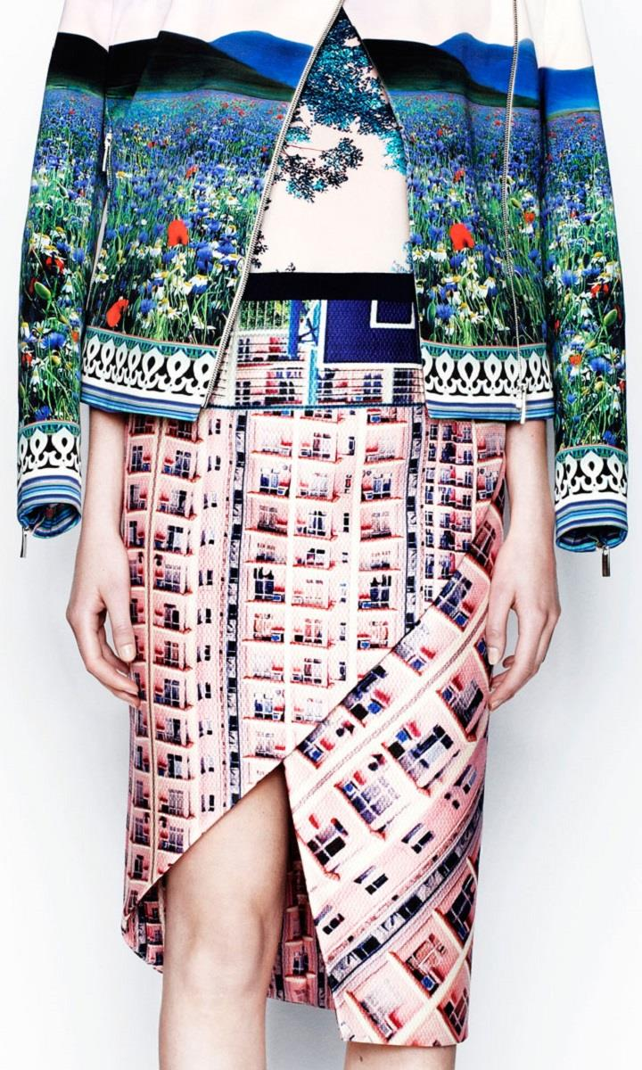Mary Katrantzou - landscape dress