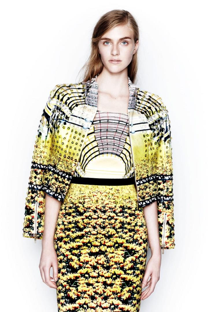 Mary Katrantzou - yellow