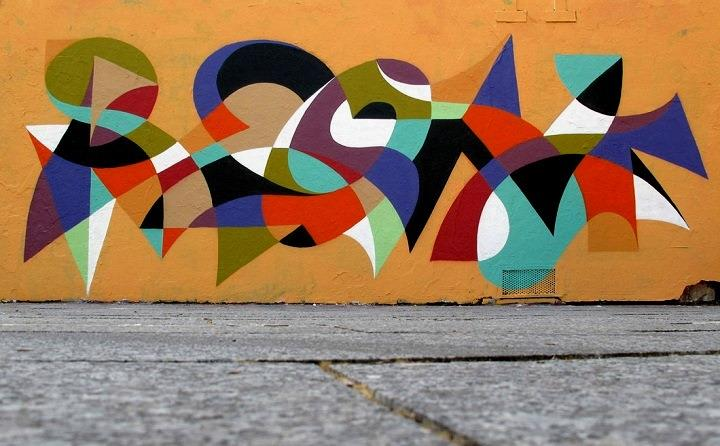 Matt W. Moore - graffiti letterforms