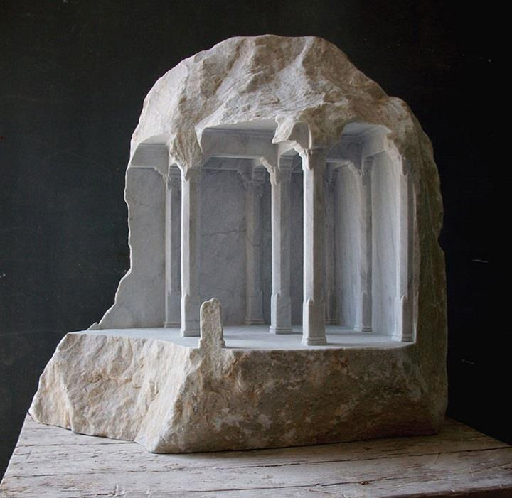 Matthew Simmonds - marble stone architectural sculpture