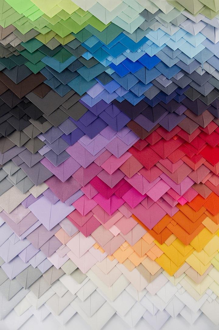 Maud Vantours - paper art