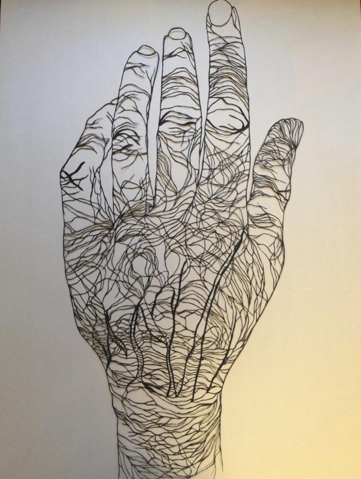 Maude White - hand