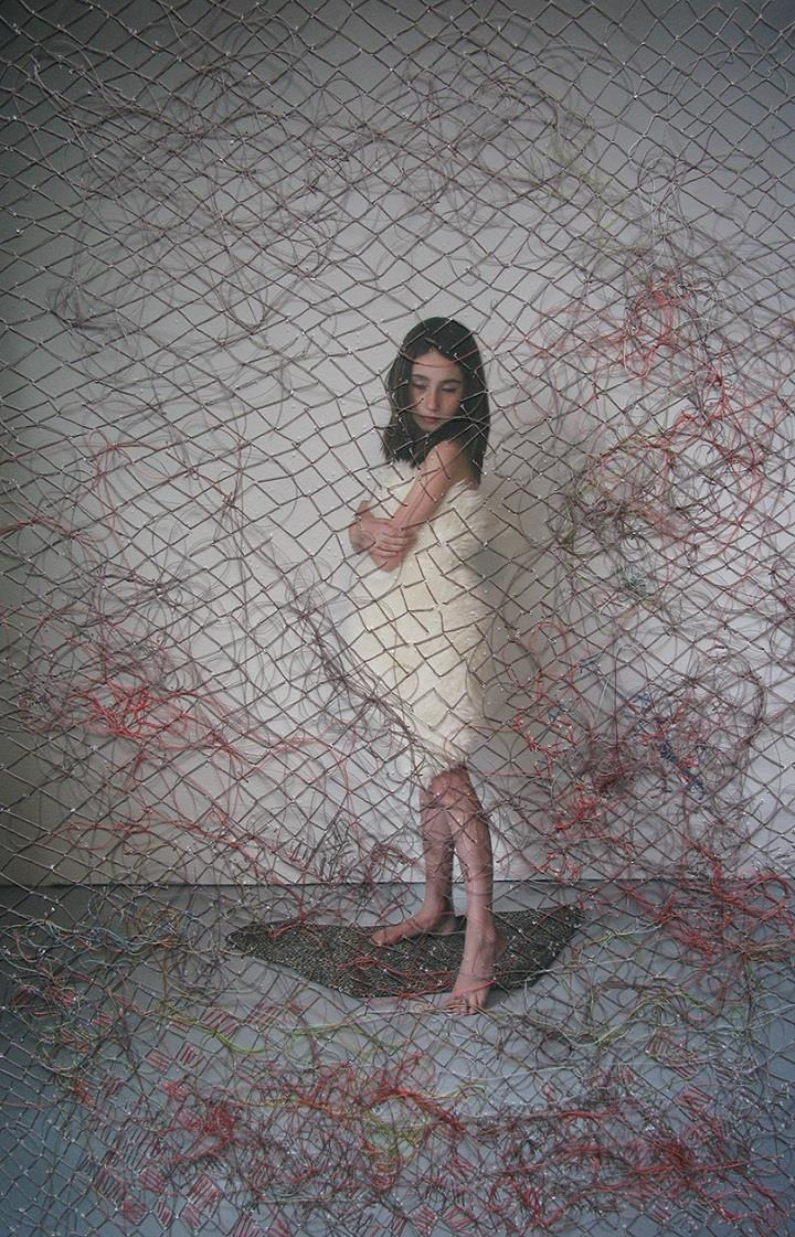 Melissa Zexter - photo embroidered