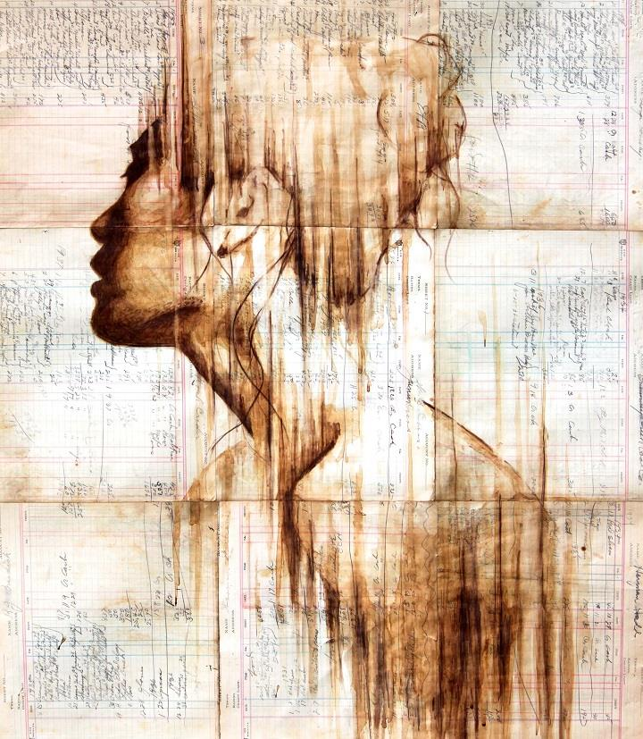 Michael Aaron Williams - fading woman