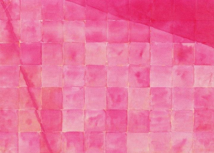 Mika Barr - a pink textile