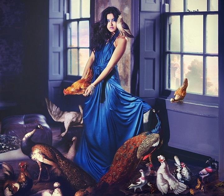 Miss Aniela - frock and fowl
