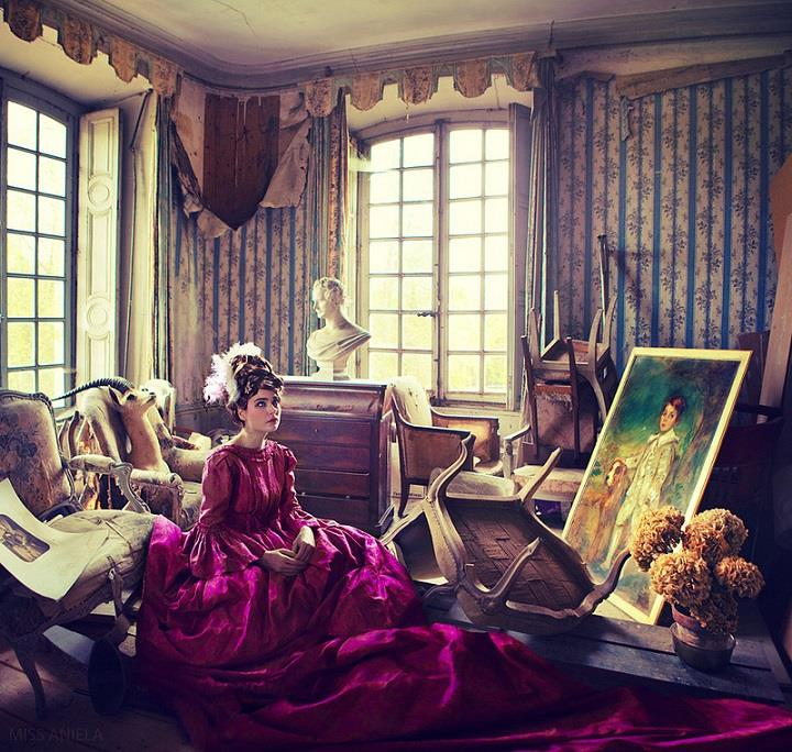 Miss Aniela - pink dress