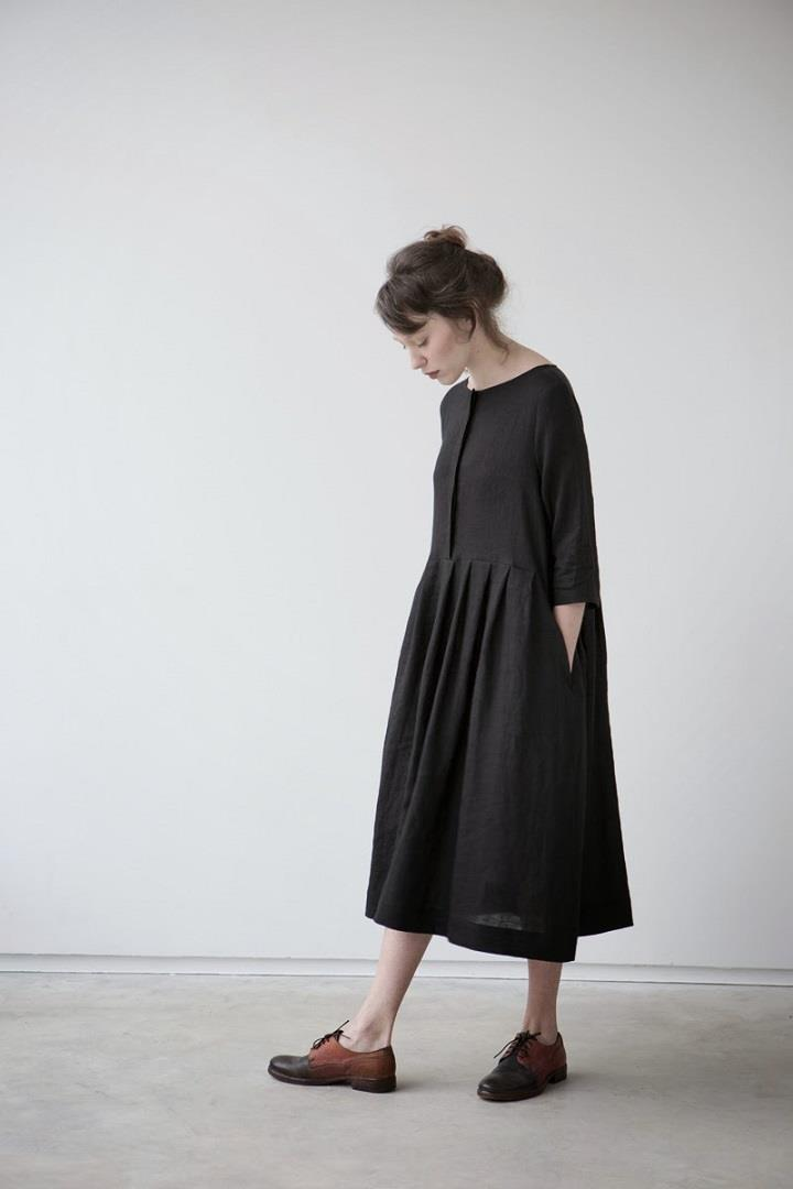 Muku - black dress SS14