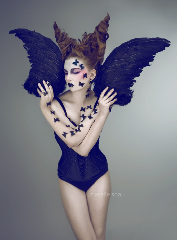 Natalie Shau - black wings