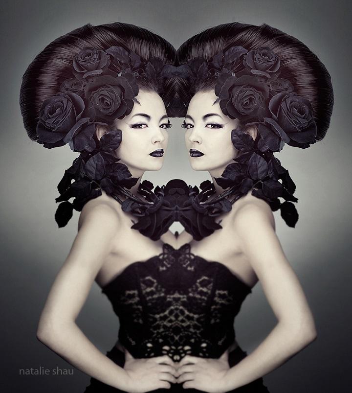 Natalie Shau - twins
