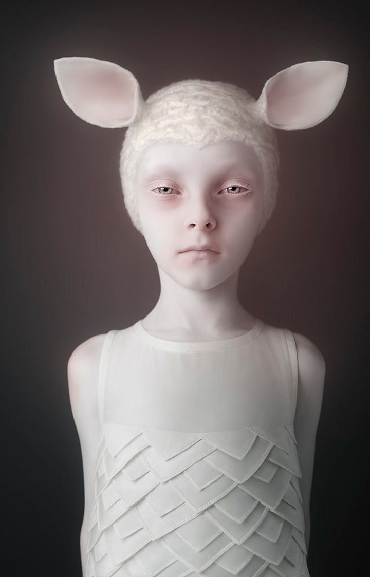 Oleg Dou - ears white