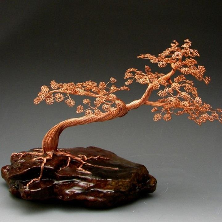 Omer Huremovic - bonsai wire tree