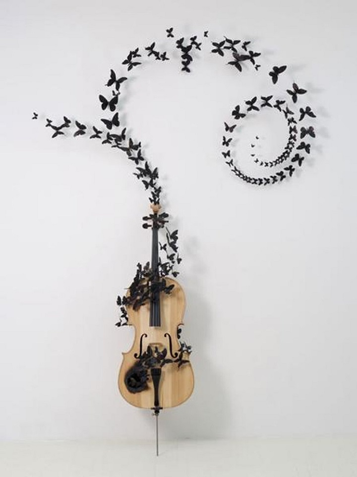 Paul Villinski - chello black butterflies
