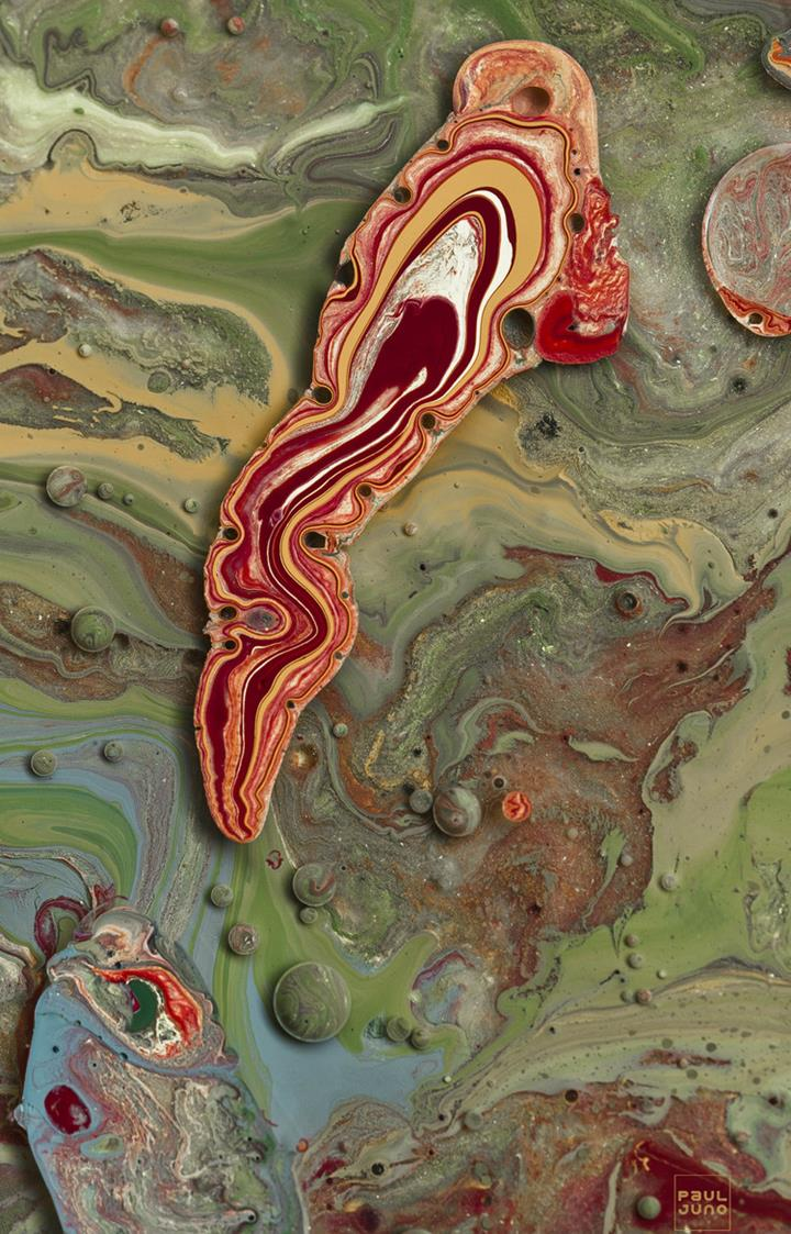 Paul Juno - Agate Painting2