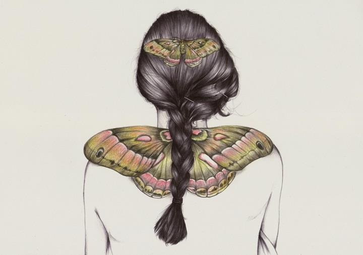 Peony Yip - a butterfly girl