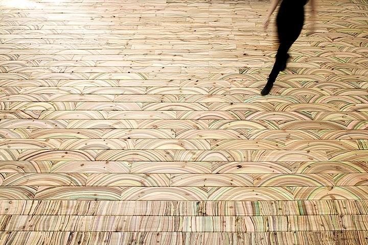 Pernille Snedker Hansen - wood floor