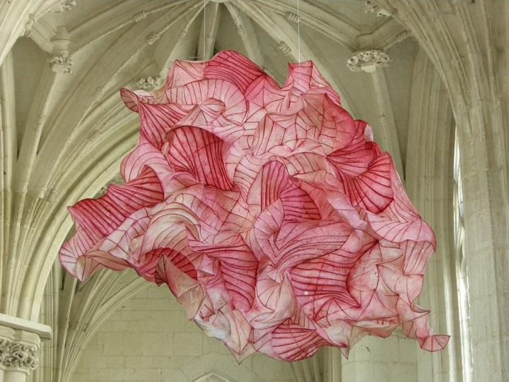 Peter Gentenaar - hung paper art