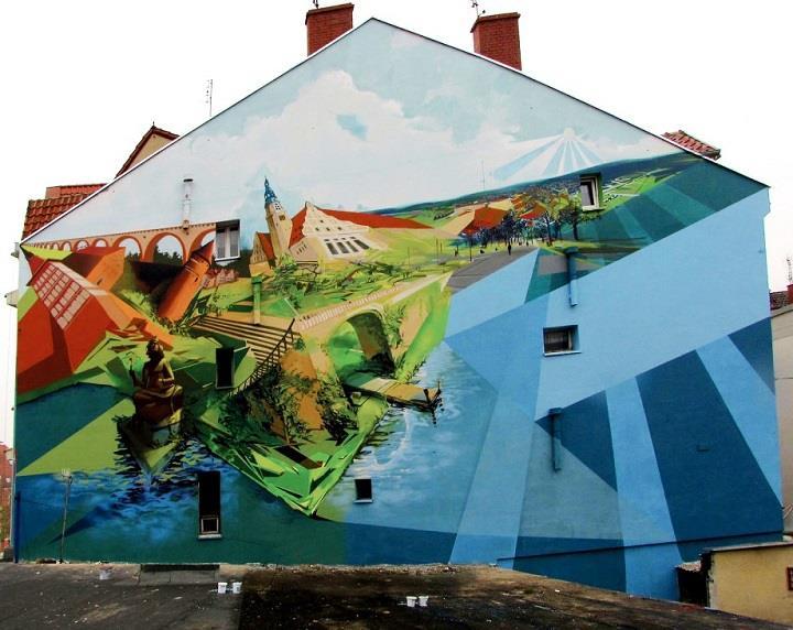 Przemek Blejzyk - a wall
