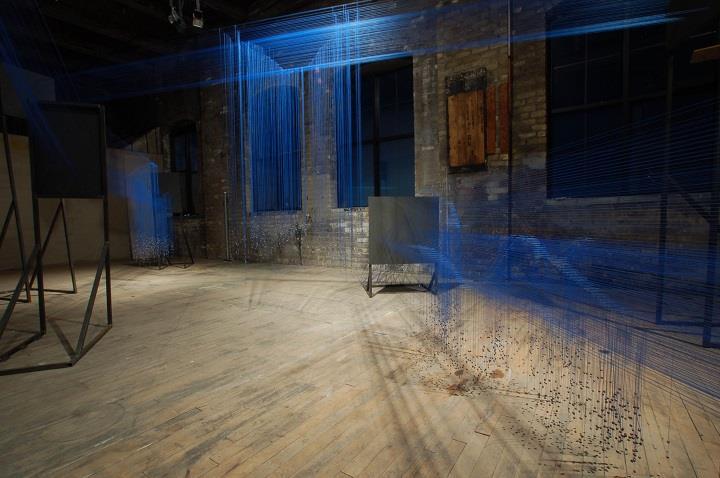 R. Justin Stewart - untied installation