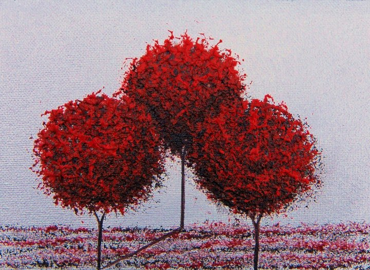 Rachel Bingaman - three trees