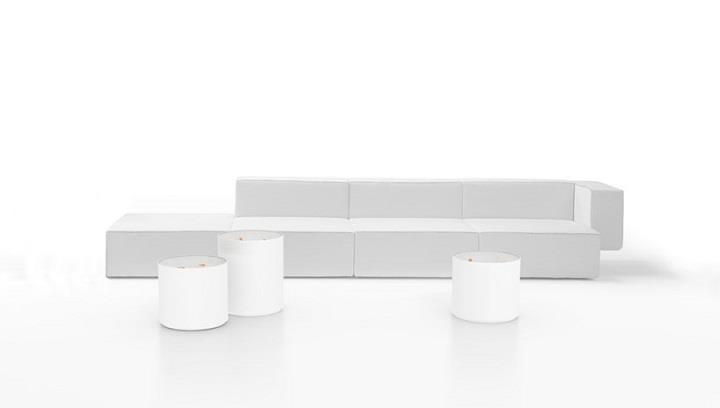 Ramon Ubeda and Otto Canalda - white Viccarbe Design
