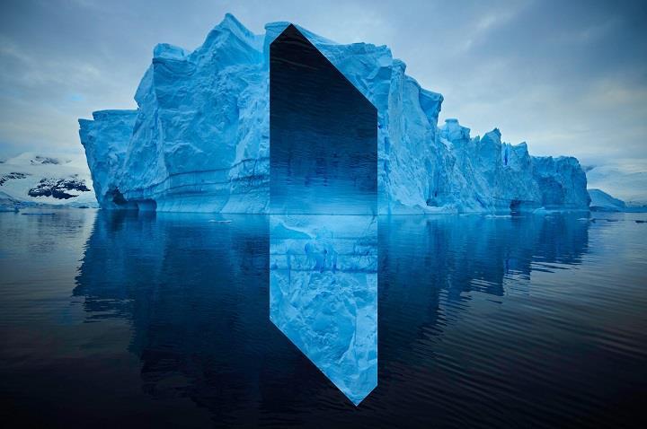 Reynald Drouhin - blue icebeg