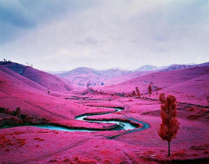 Richard Mosse - a color of war in congo