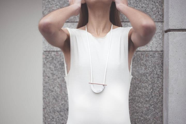 RillRill Jewelry - long white necklace