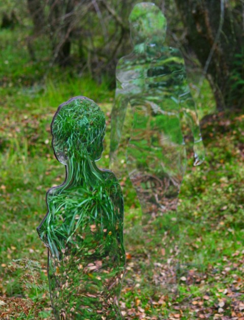 Rob Mulholland - Mirror Sculptures 5