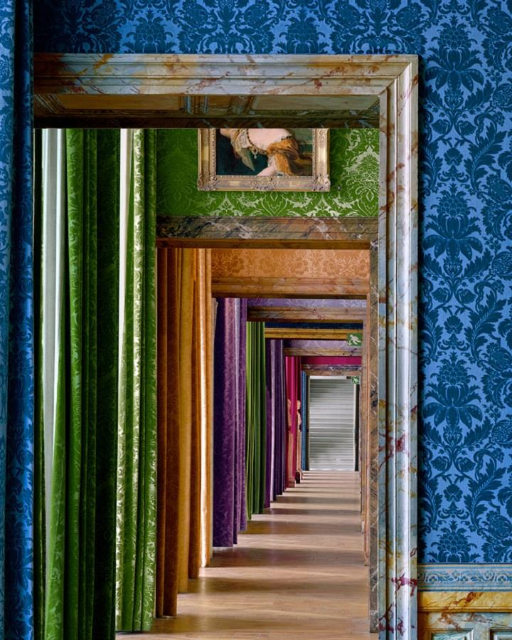 Robert Polidori - colorful versailles