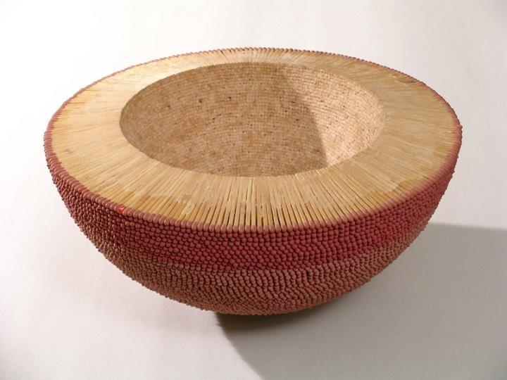 Ryan and Trevor Oakes - matchstick bowl