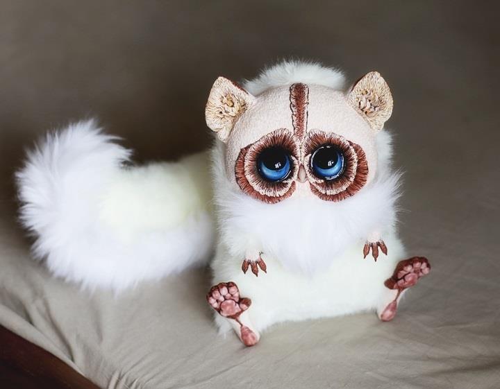 Santani - Siamese Creature Doll