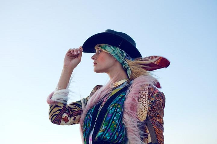 Sarah St. Clair Renard - psychedelic fashion