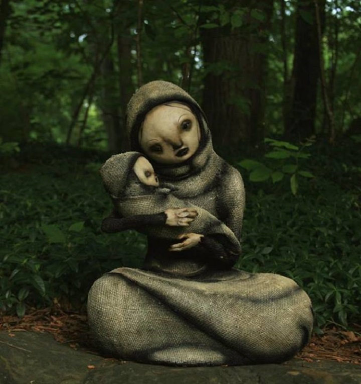 Scott Radke - mother and child