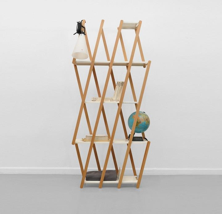 Stephanie Hornig - compressed narrow shelf