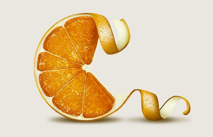 Steven Bonner - an orange