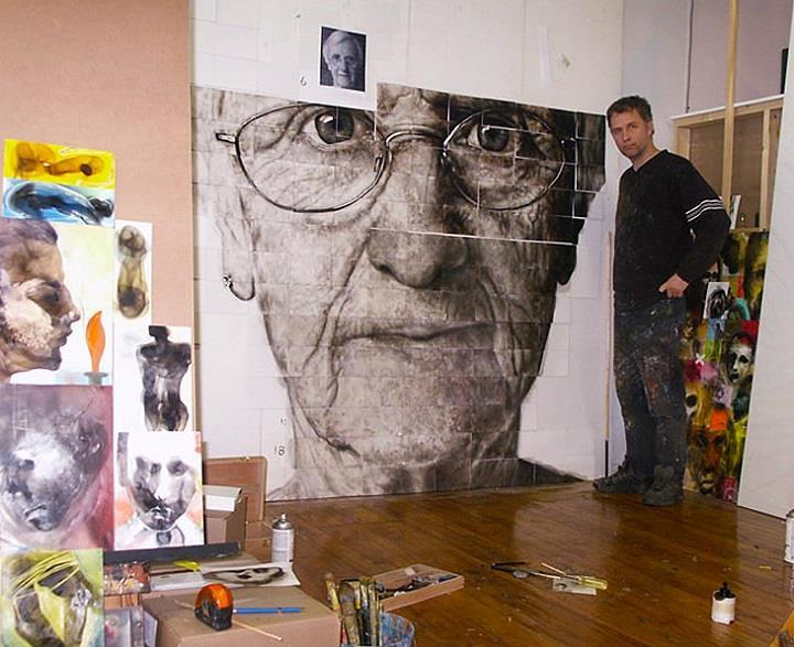 Steven Spazuk - studio large