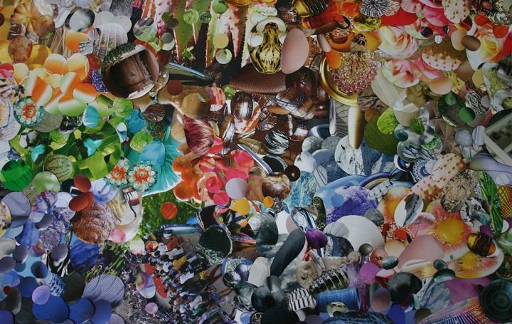 Suzan Drummen - collage work