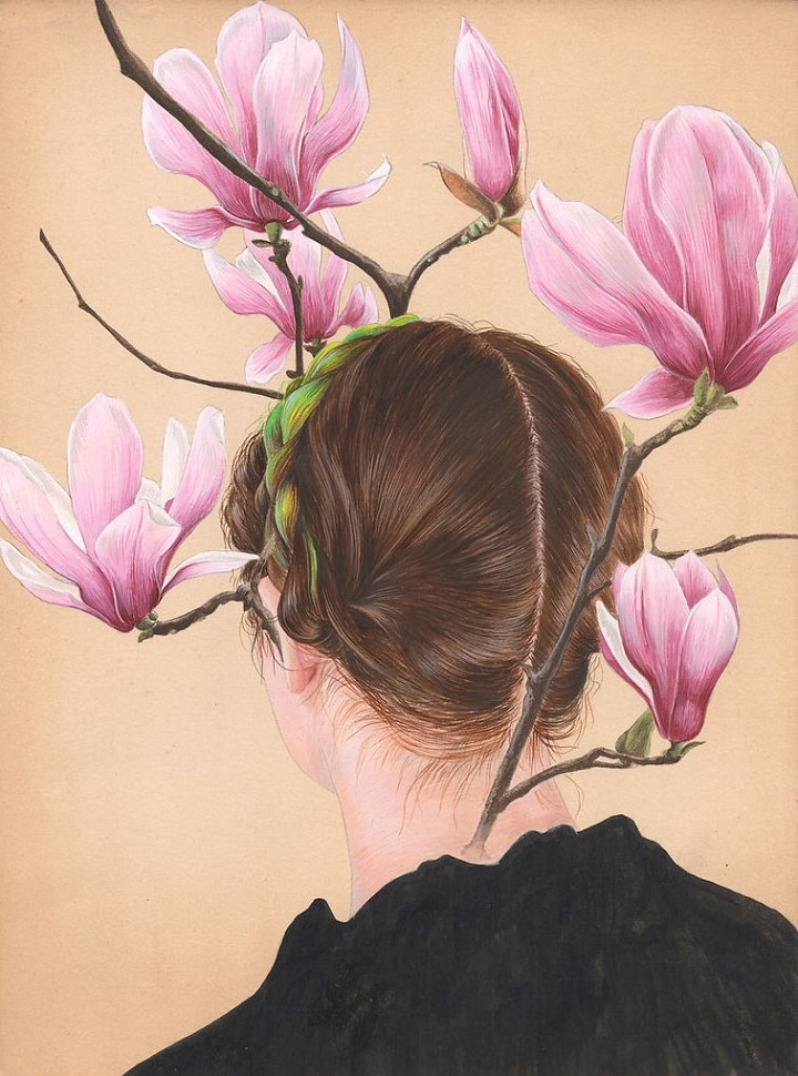 Tamara Feijoo - hair and flowers